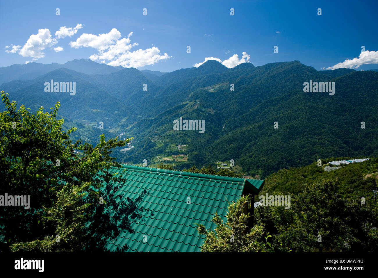 BMW Mountain View >> Mountain View In Cingjing Taiwan Stock Photo 30070155 Alamy