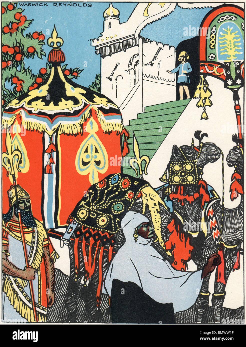 King Solomon Calls - Stock Image