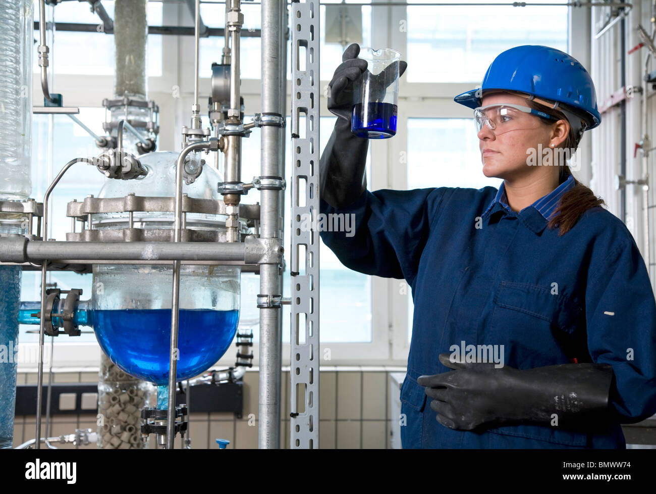 trainee chemical technician at evonik company marl germany stock