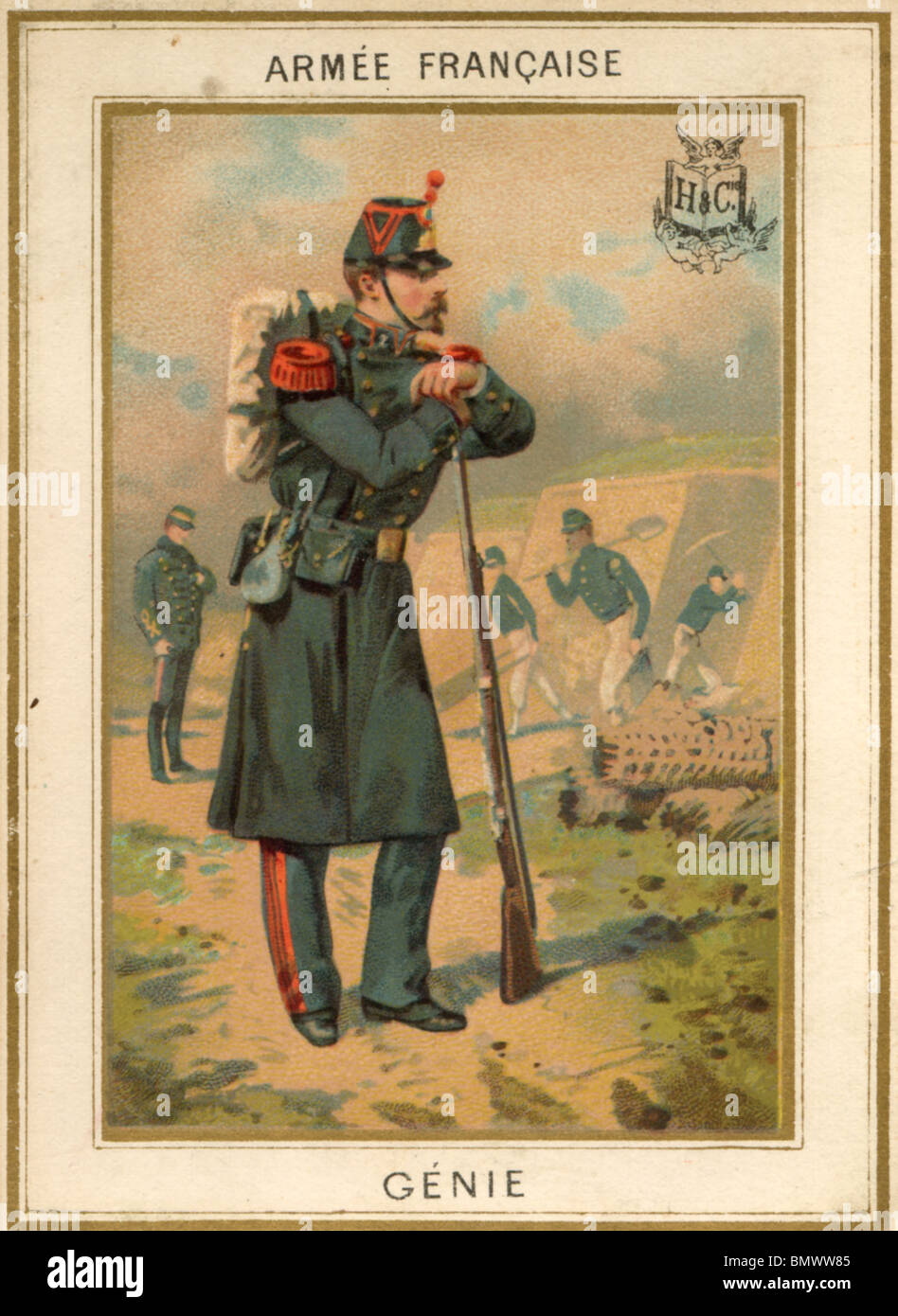 French Army - Stock Image