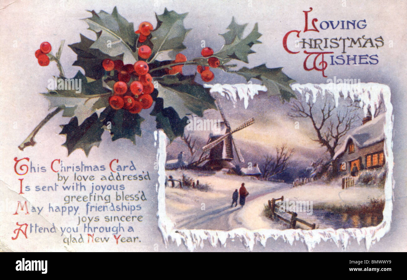 Christmas Card Scenes High Resolution Stock Photography And Images Alamy