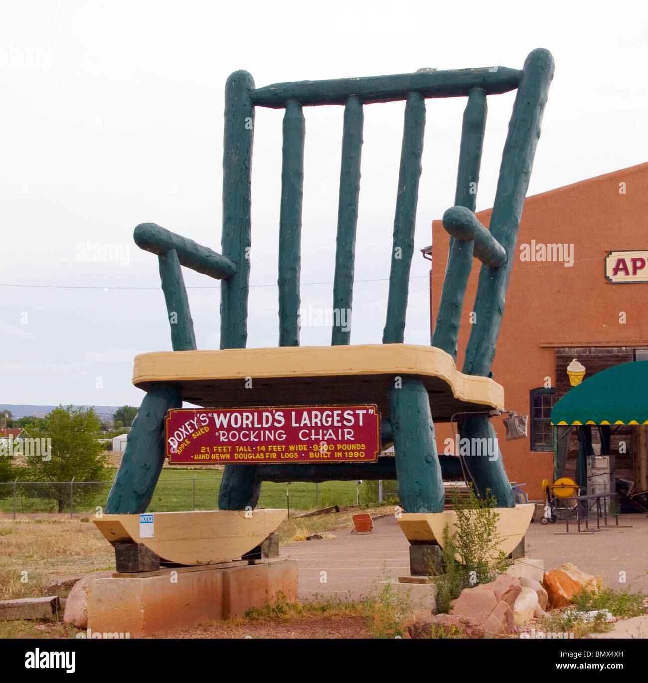 Peachy Worlds Largest Rocking Chair In Penrose Colorado Stock Photo Gmtry Best Dining Table And Chair Ideas Images Gmtryco