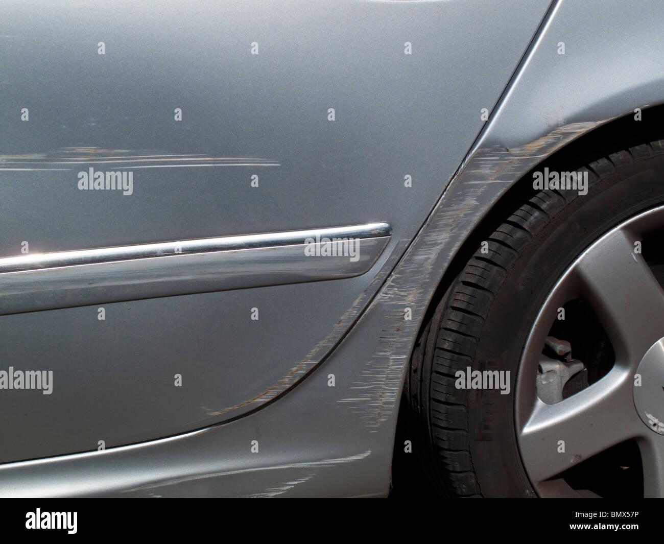 Car Paint Scratch Stock Photos & Car Paint Scratch Stock Images - Alamy