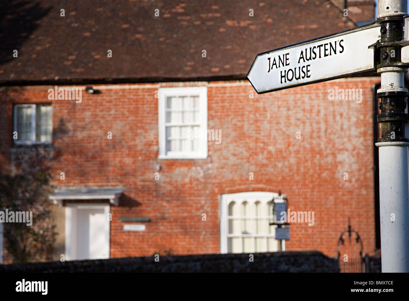Jane Austen's House Chawton England UK - Stock Image