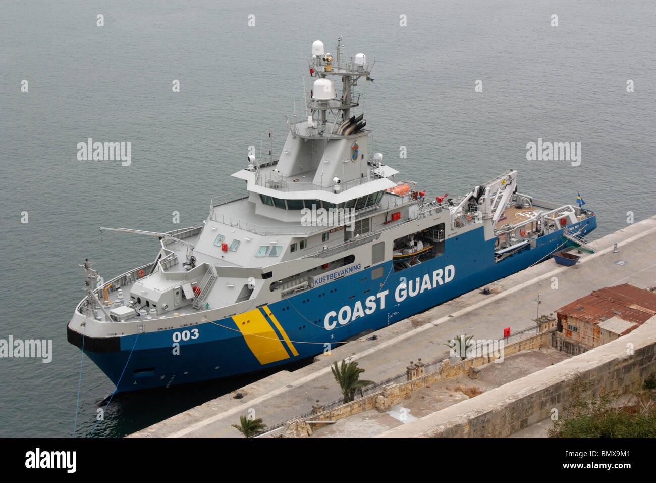 The Swedish Coast Guard vessel Amfitrite - Stock Image