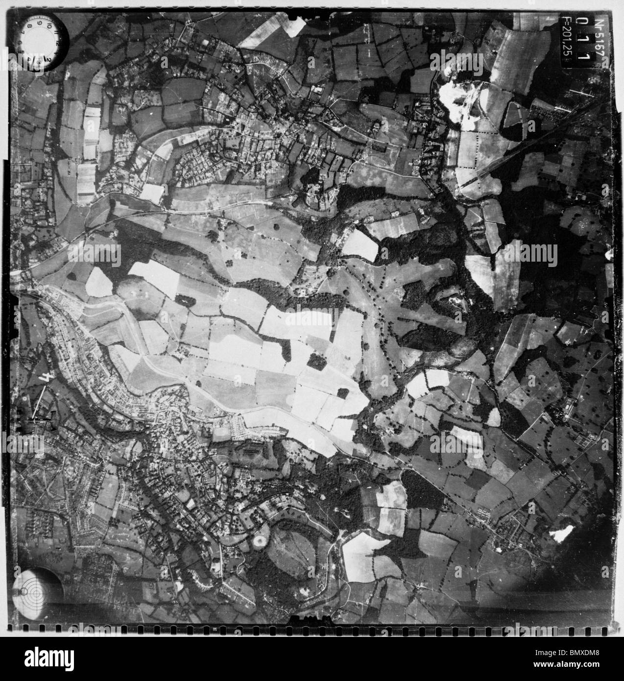 Kenley - Surrey 24th August 1940 Bomb Attack on Kenley RAF Station - Stock Image