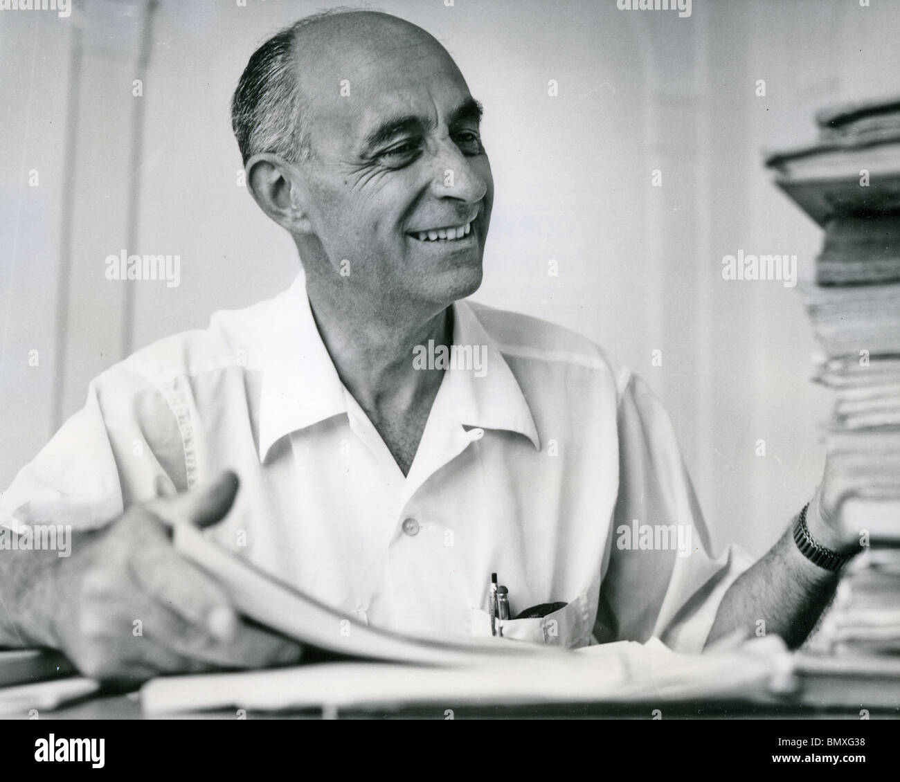 ENRICO FERMI (1901-1954) Italian physicist who worked on nuclear physics Stock Photo