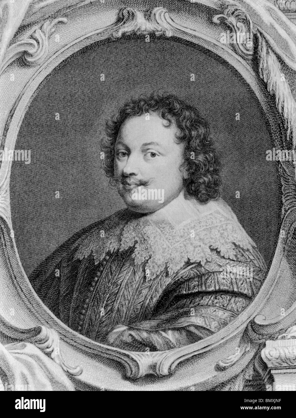 KENELM DIGBY (1603-1665) English courtier and diplomat - Stock Image