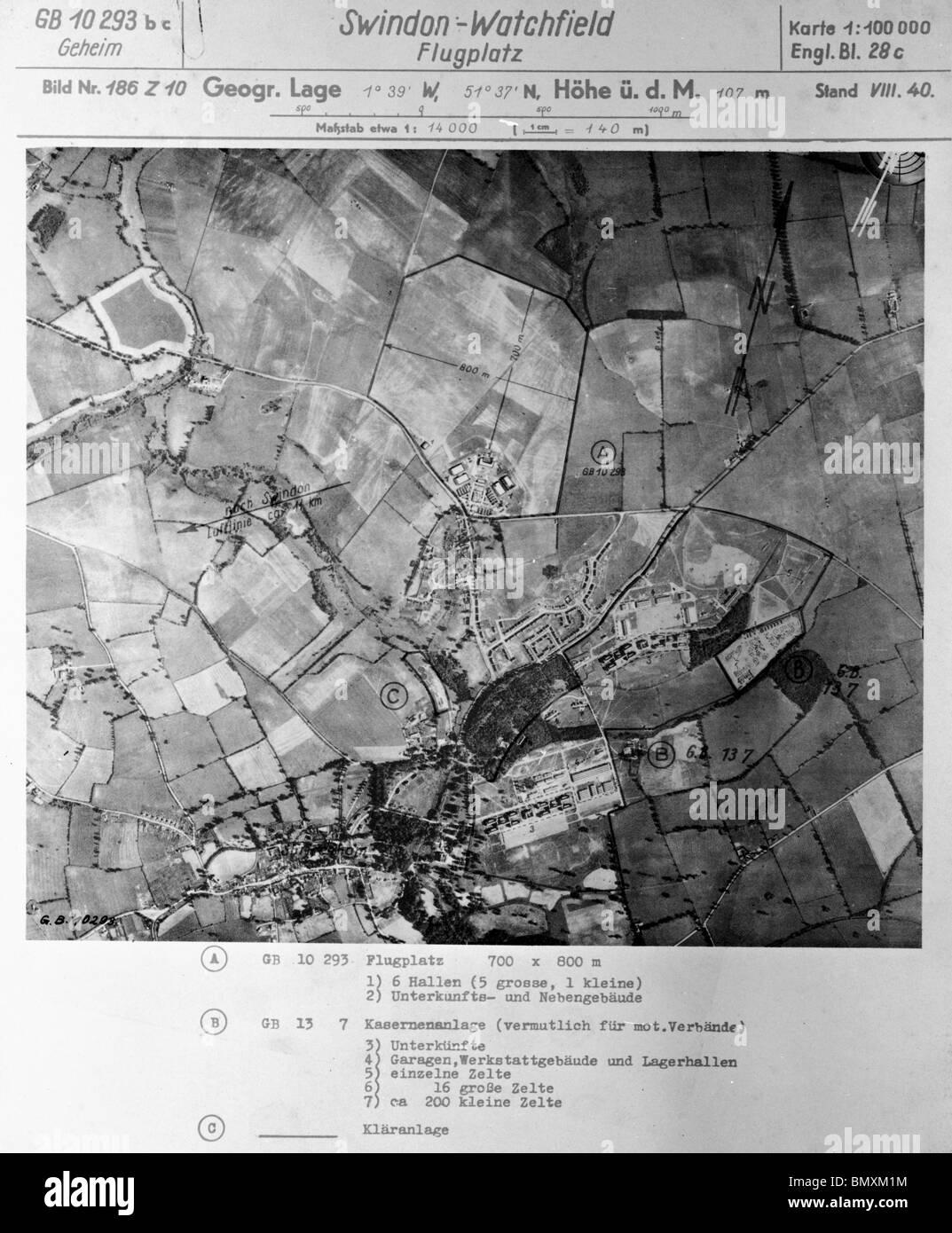 Karte Minty Wiltshire