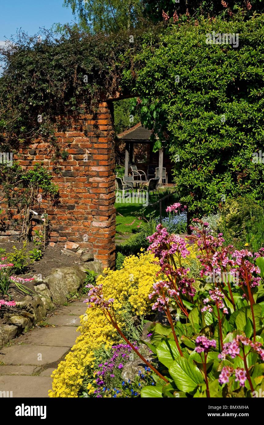 English Cottage Garden York North Yorkshire England UK United ...