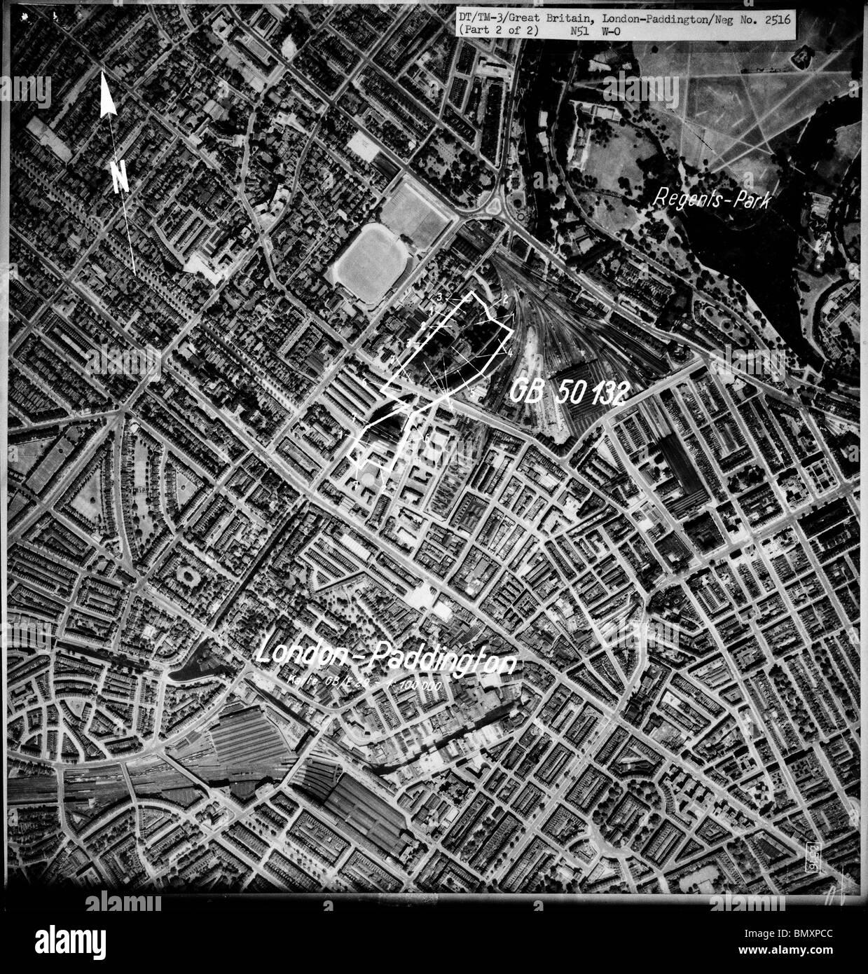 London Paddington 1939 Railway Station Power Station Lords