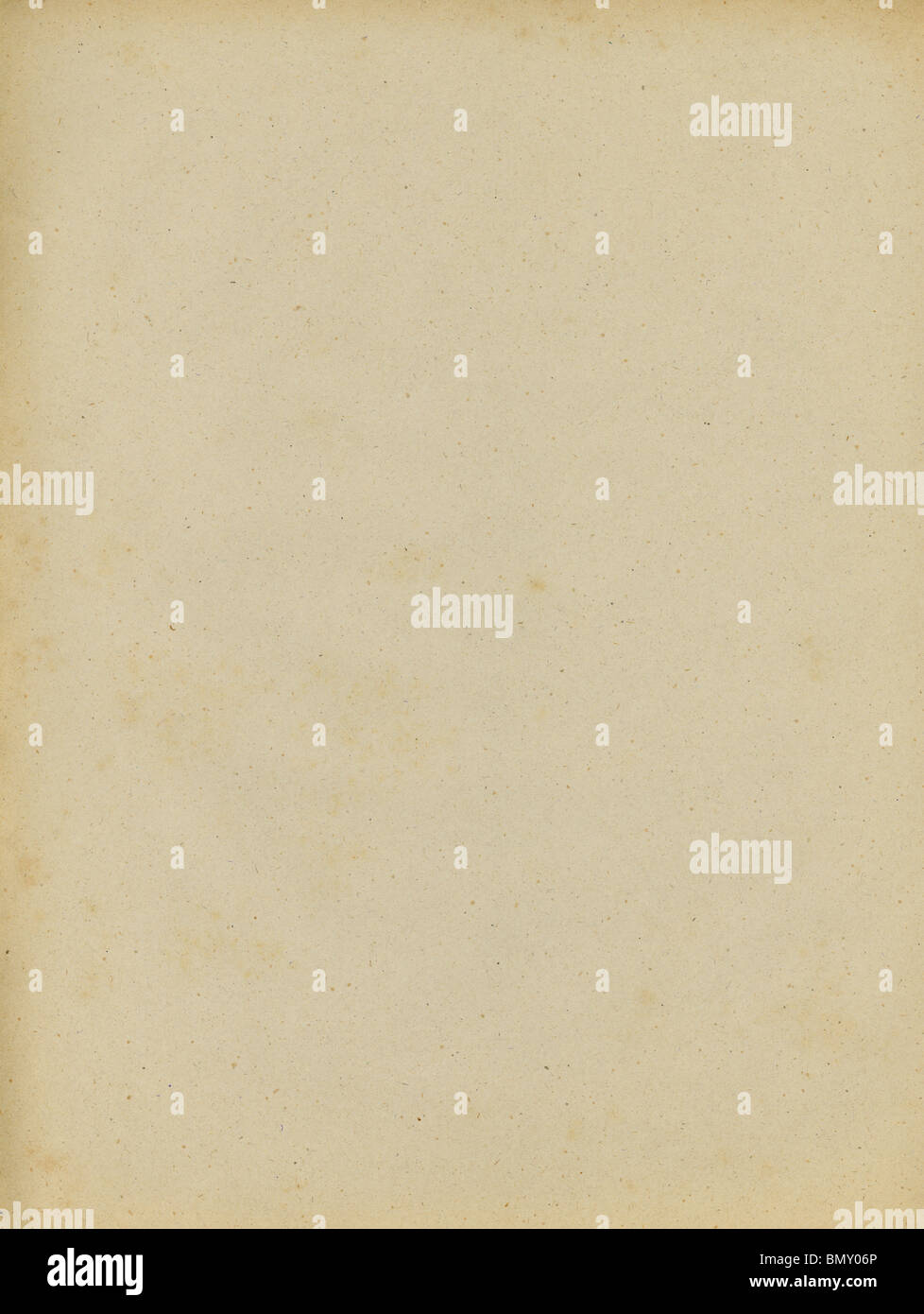 scan of old paper texture background - Stock Image