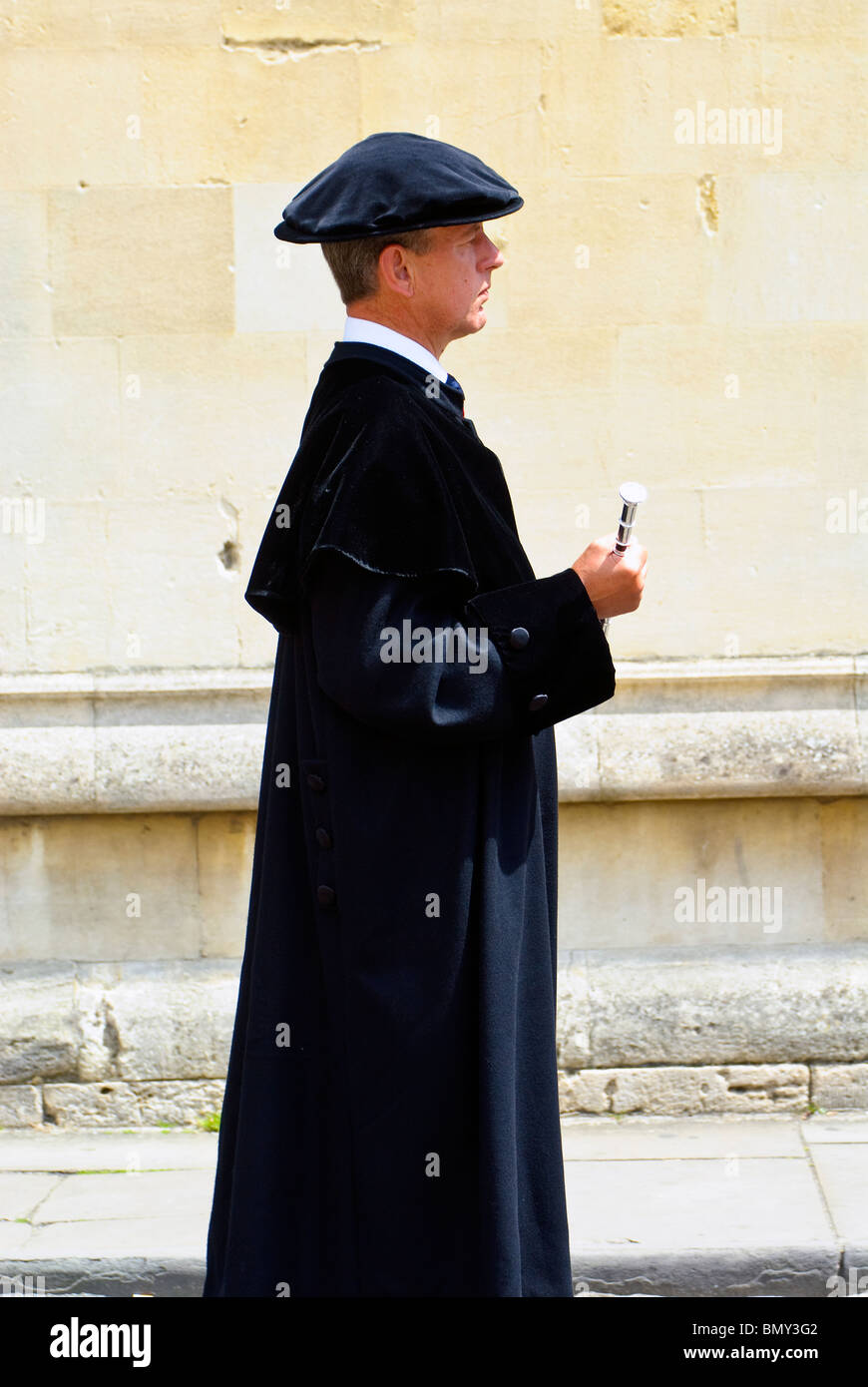 University of Oxford Encaenia Procession 2010 - The University Marshal. Stock Photo