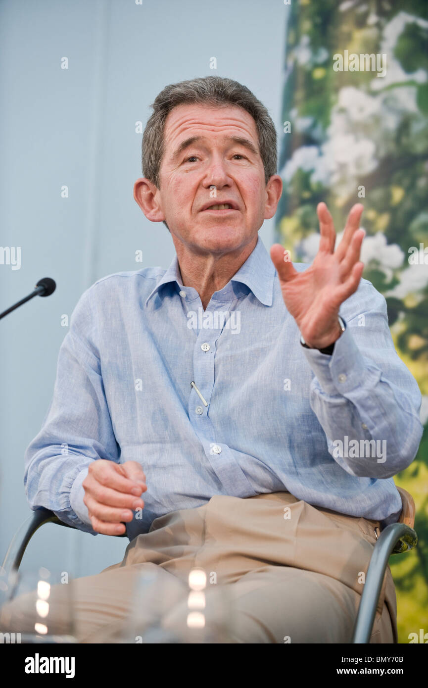 John Browne former CEO of BP pictured at Hay Festival 2010 Hay on Wye Powys Wales UK - Stock Image