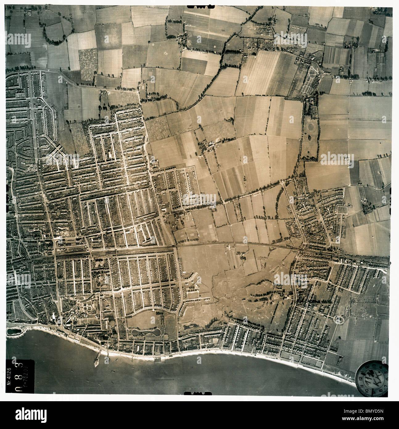 Southend on Sea - Essex 1940 - Stock Image