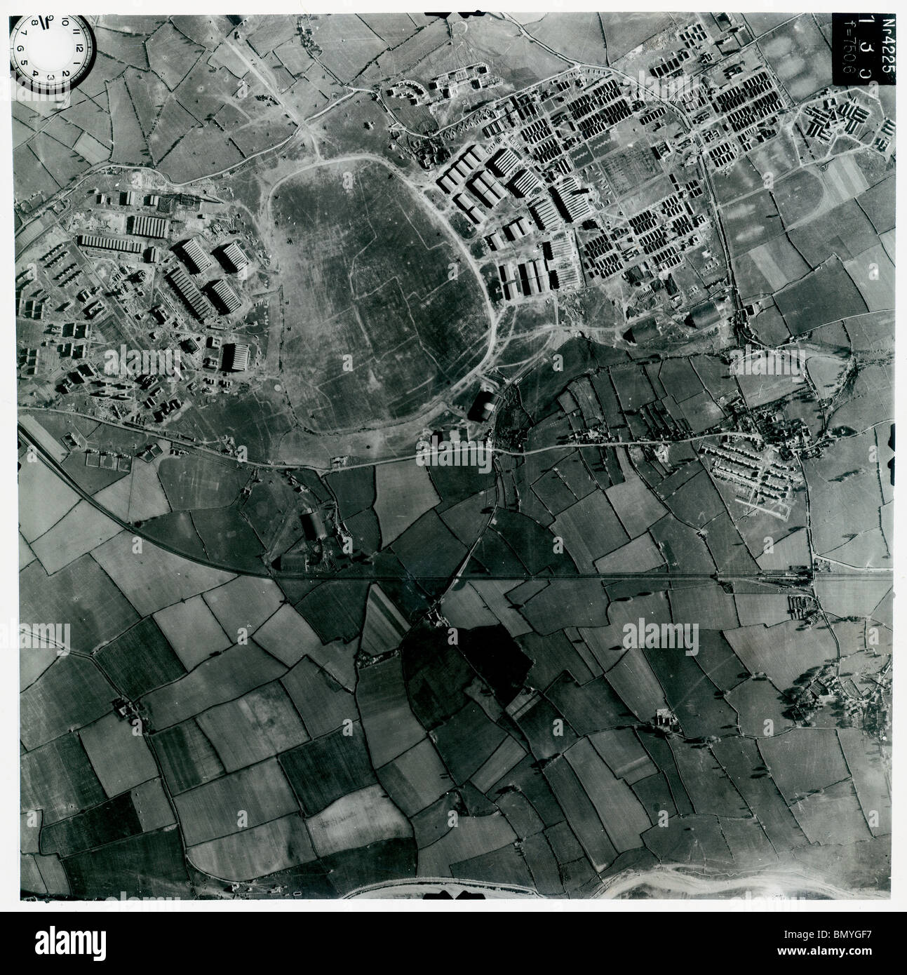 St. Athan, Nr. Cardiff - Wales 1940 Airfield - Stock Image