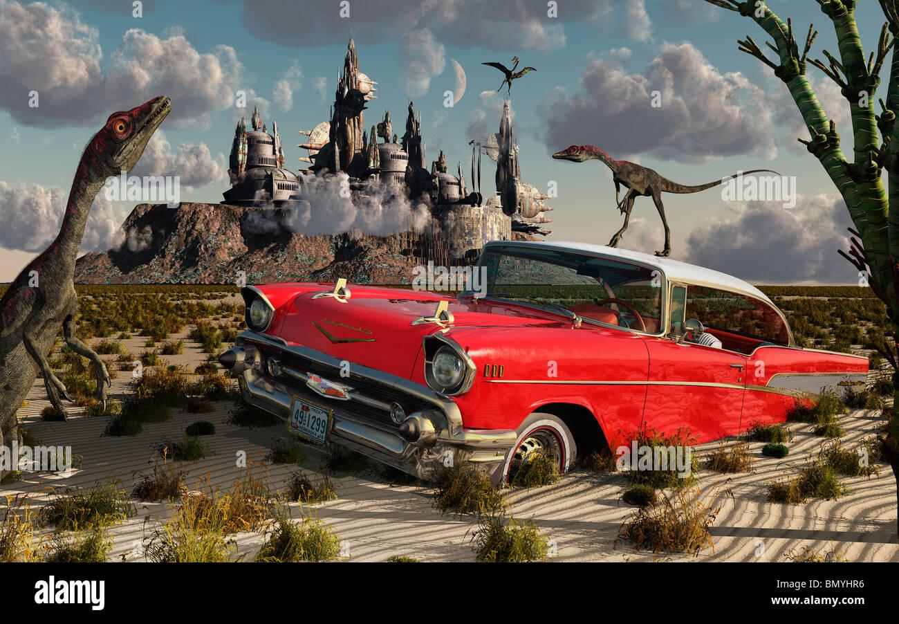 Jurassica.4 - Stock Image
