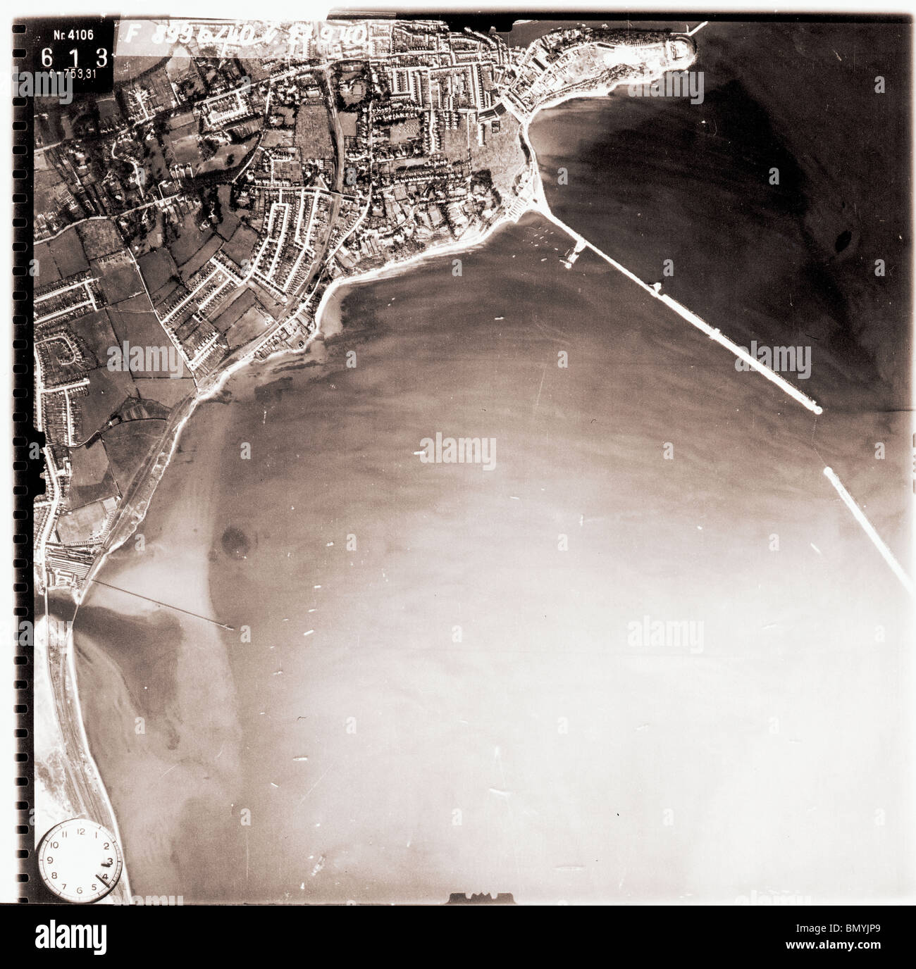 Weymouth - Dorset 27th September 1940 Naval Base - Stock Image