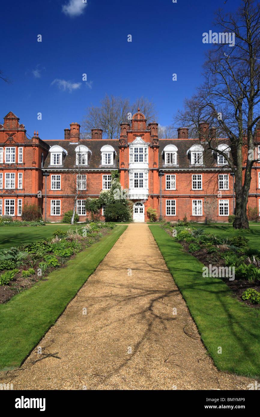 Newnham College Cambridge University - Stock Image