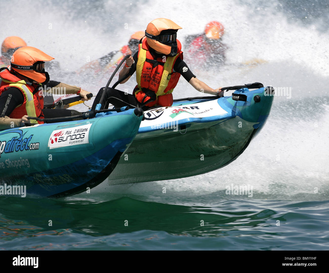 Powerboat P1 Grand Prix of Malta. Thundercat Racing. - Stock Image
