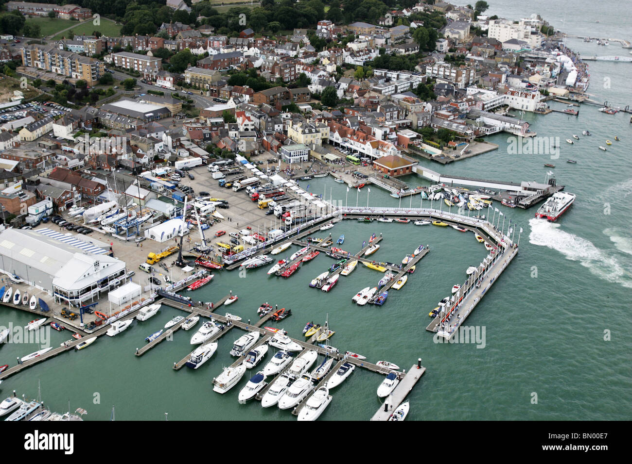 Powerboat P1 Festival Cowes, Isle of Wight. - Stock Image