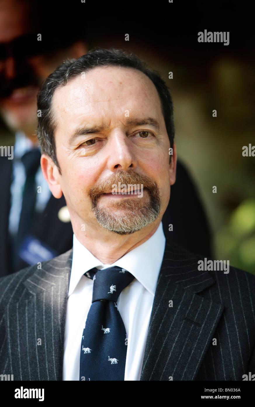 Portuguese ambassador; Mr António Santana Carlos at Kings House; Thetford Norfolk. 04061001 - Stock Image