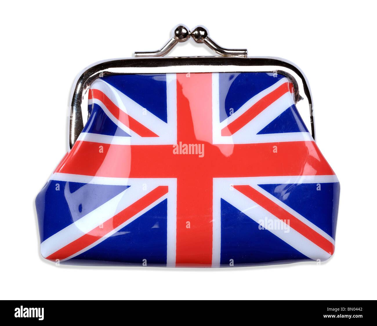 Union Jack purse - Stock Image