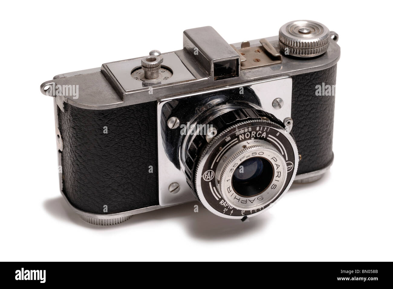 Norca 35mm film camera - Stock Image