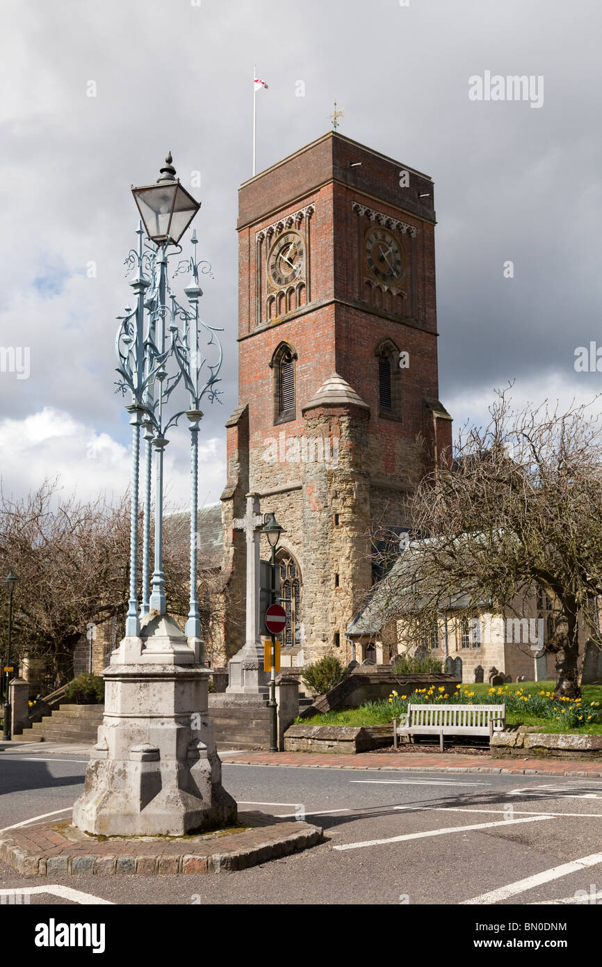 Saint Mary the Virgin Church, Petworth - Stock Image
