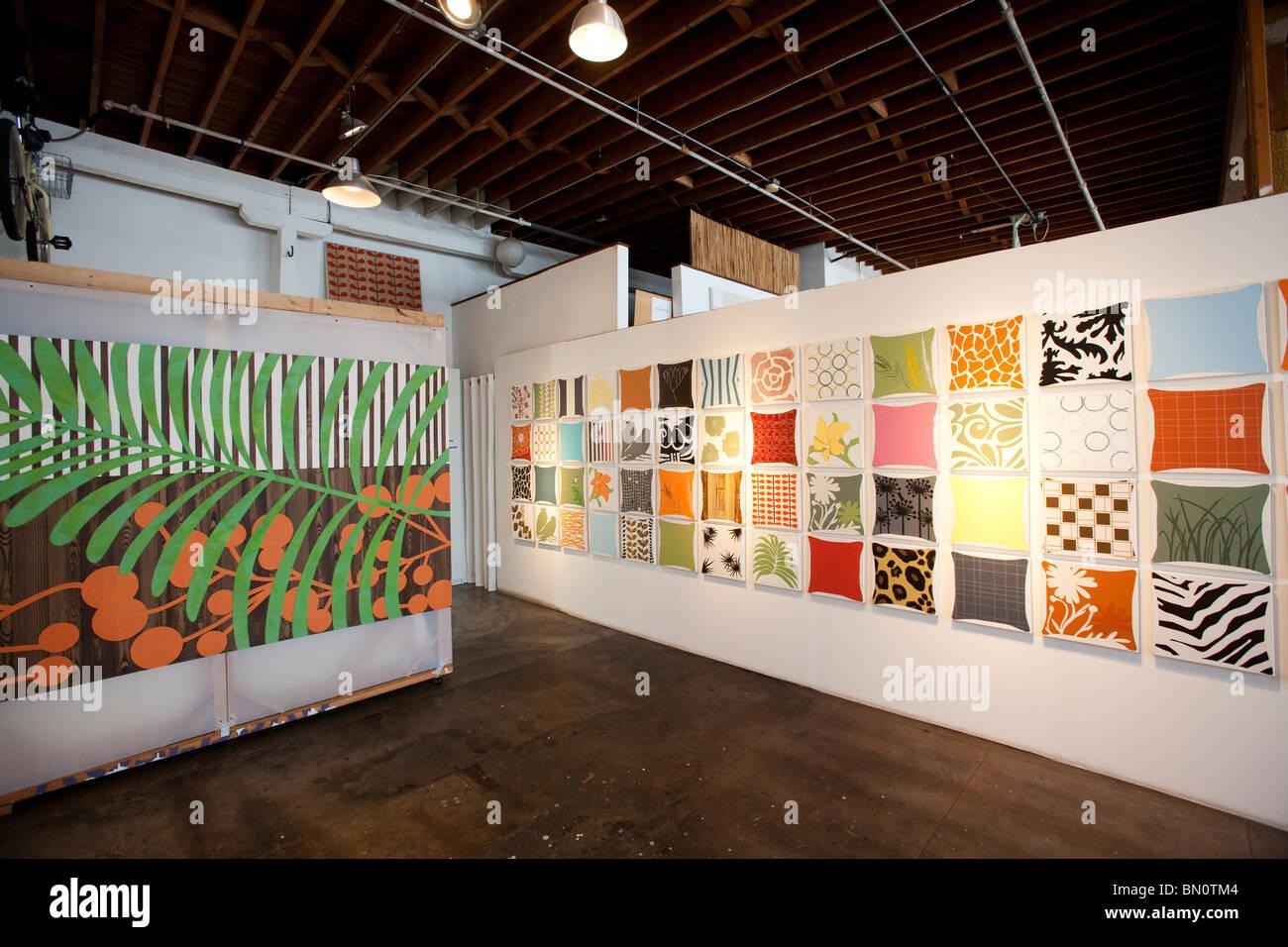 Santa Fe Art Colony Open House Los Angeles California United Stock Photo Alamy