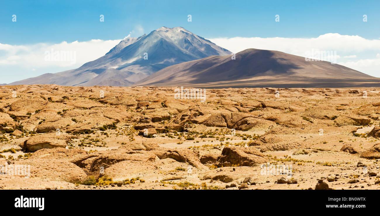 Licancabur Volcano, Potosi, Bolivia - Stock Image