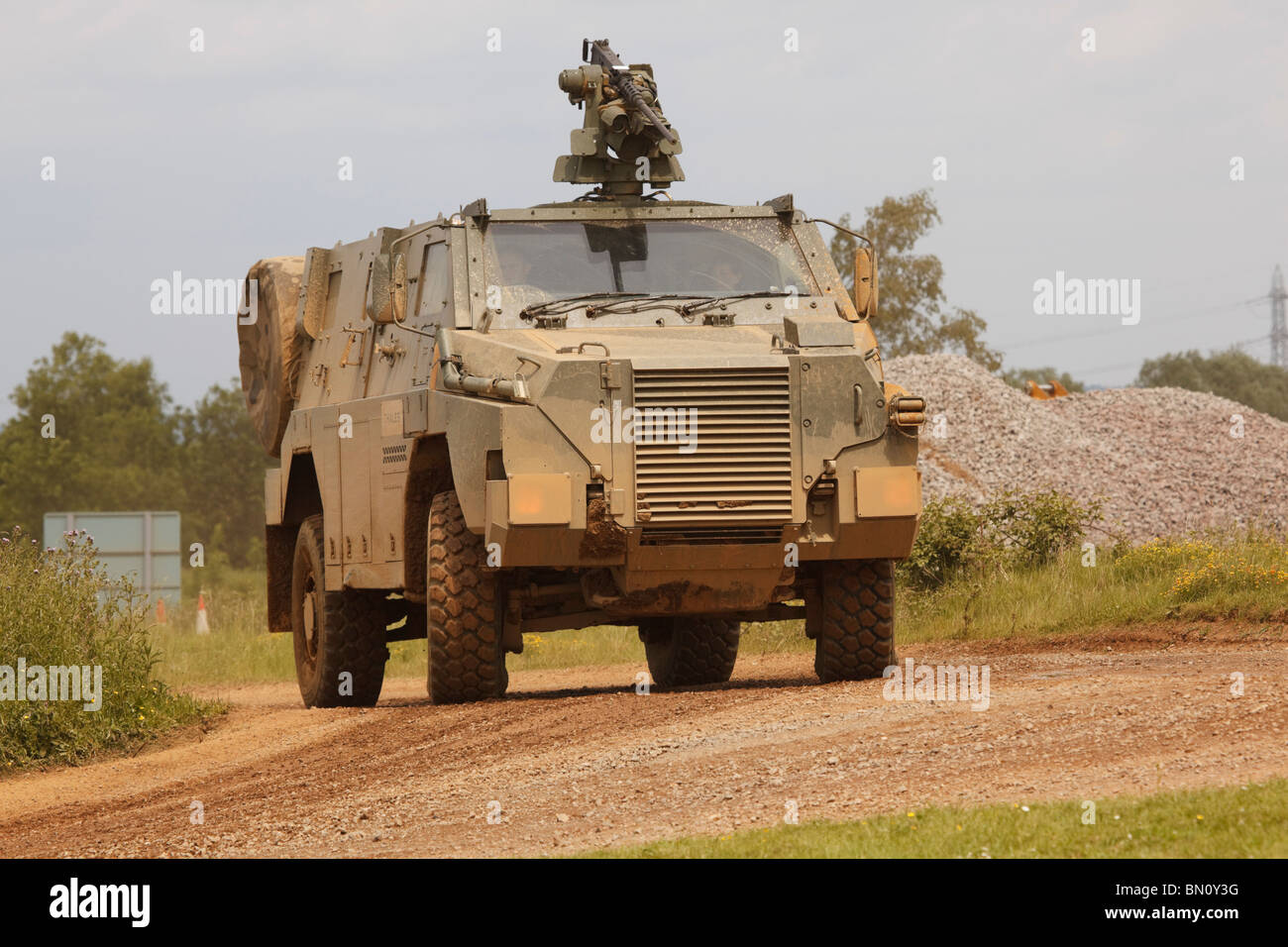 Thales Bushmaster protected infantry vehicle Stock Photo