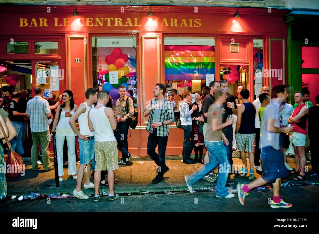 Local gay bar