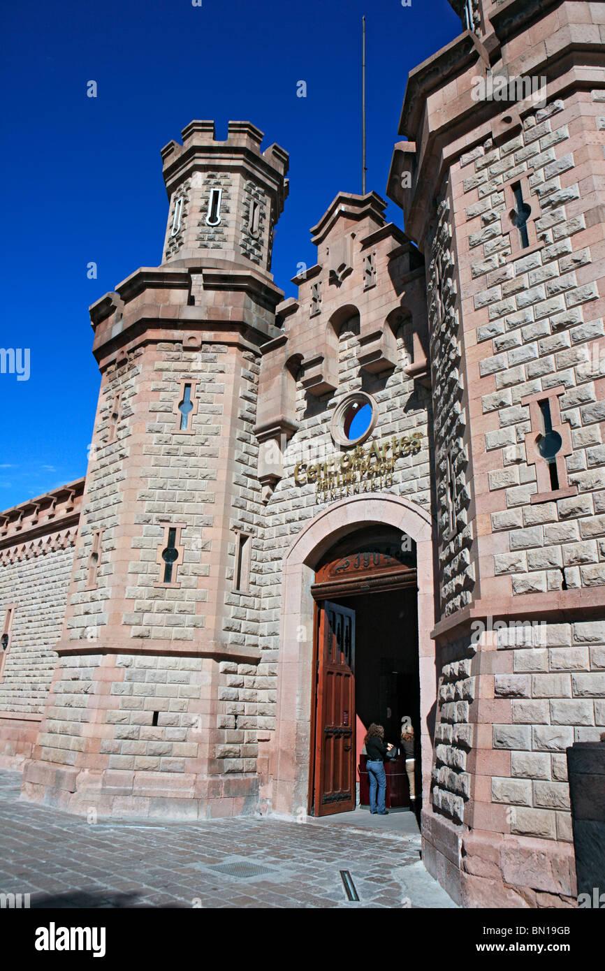 Art Centre (1904), San Luis Potosi, state San Luis Potosi, Mexico - Stock Image