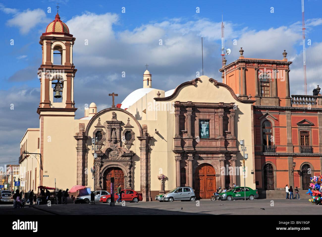 San Luis Potosi, state San Luis Potosi, Mexico - Stock Image