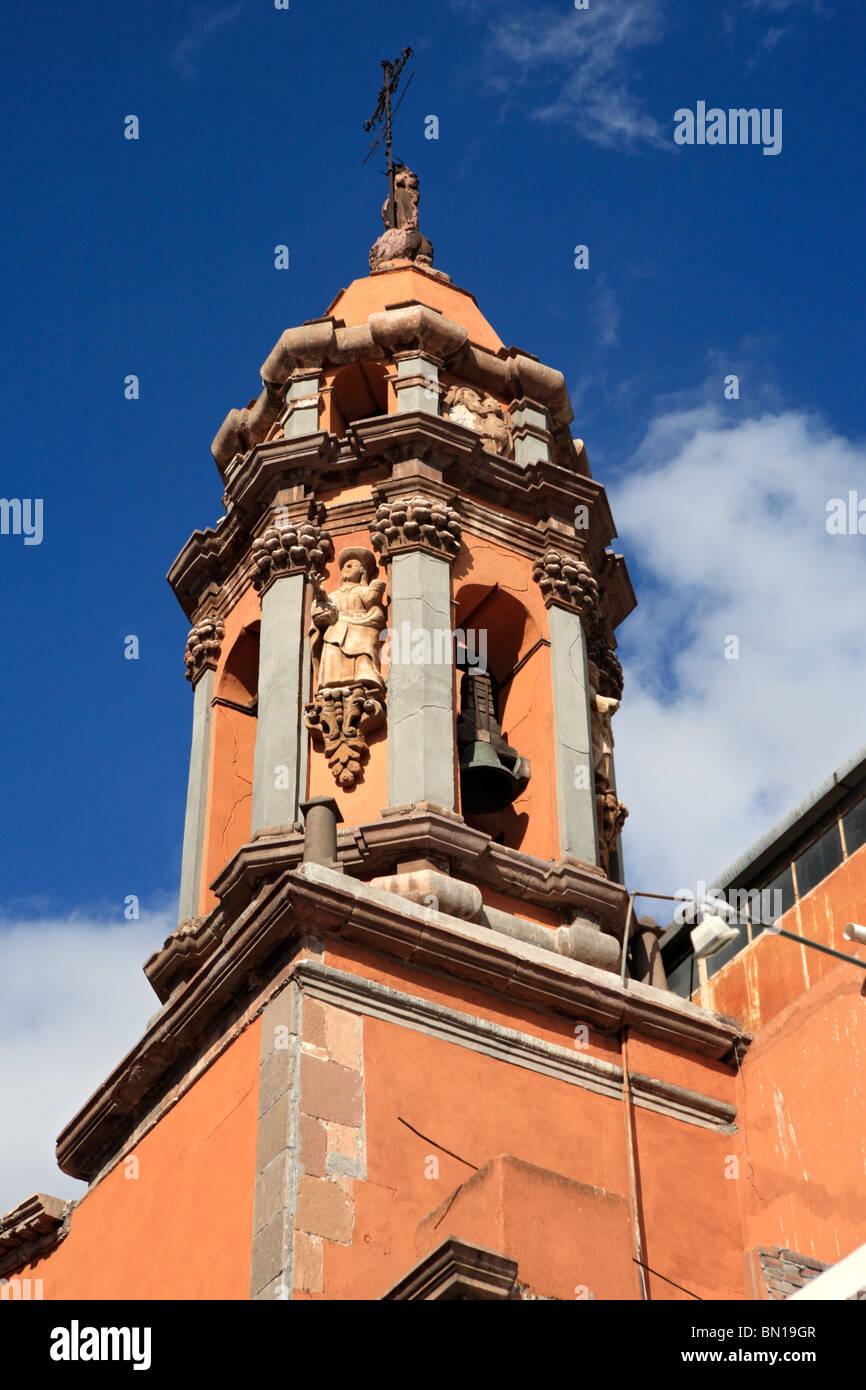 San Jose church, San Luis Potosi, state San Luis Potosi, Mexico - Stock Image