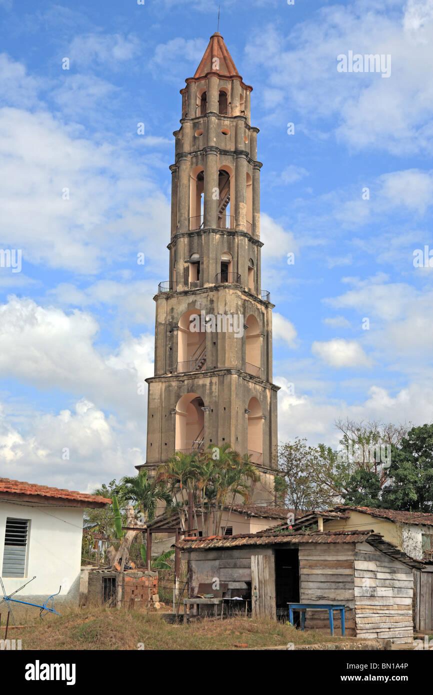 Watch tower (1816), Valle de los Ingenios, Cuba - Stock Image