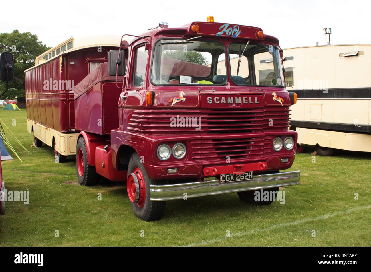 Classic British Trucks - Stock Image