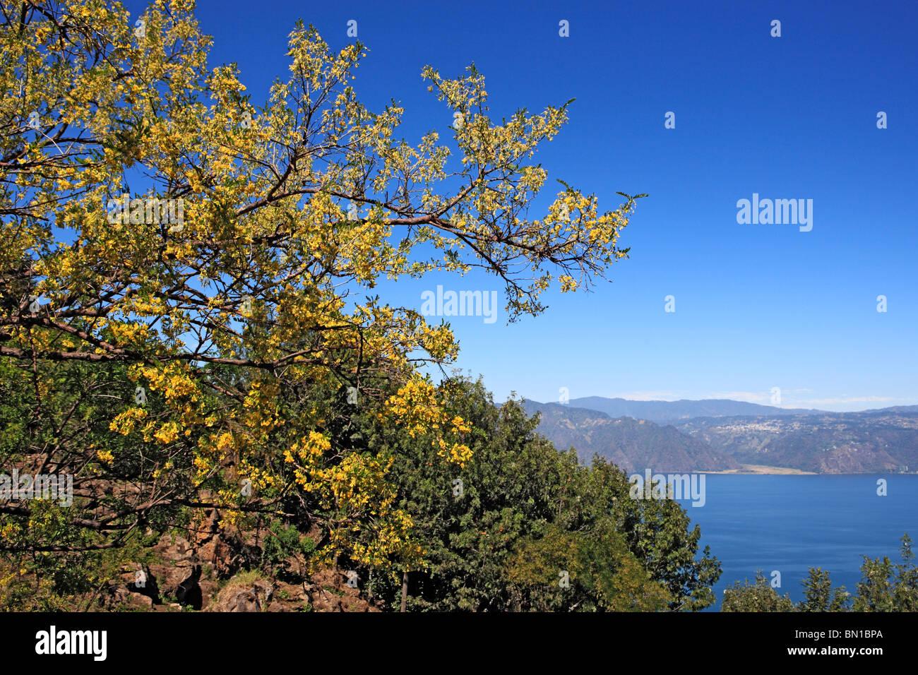 Atitlan lake, Guatemala - Stock Image