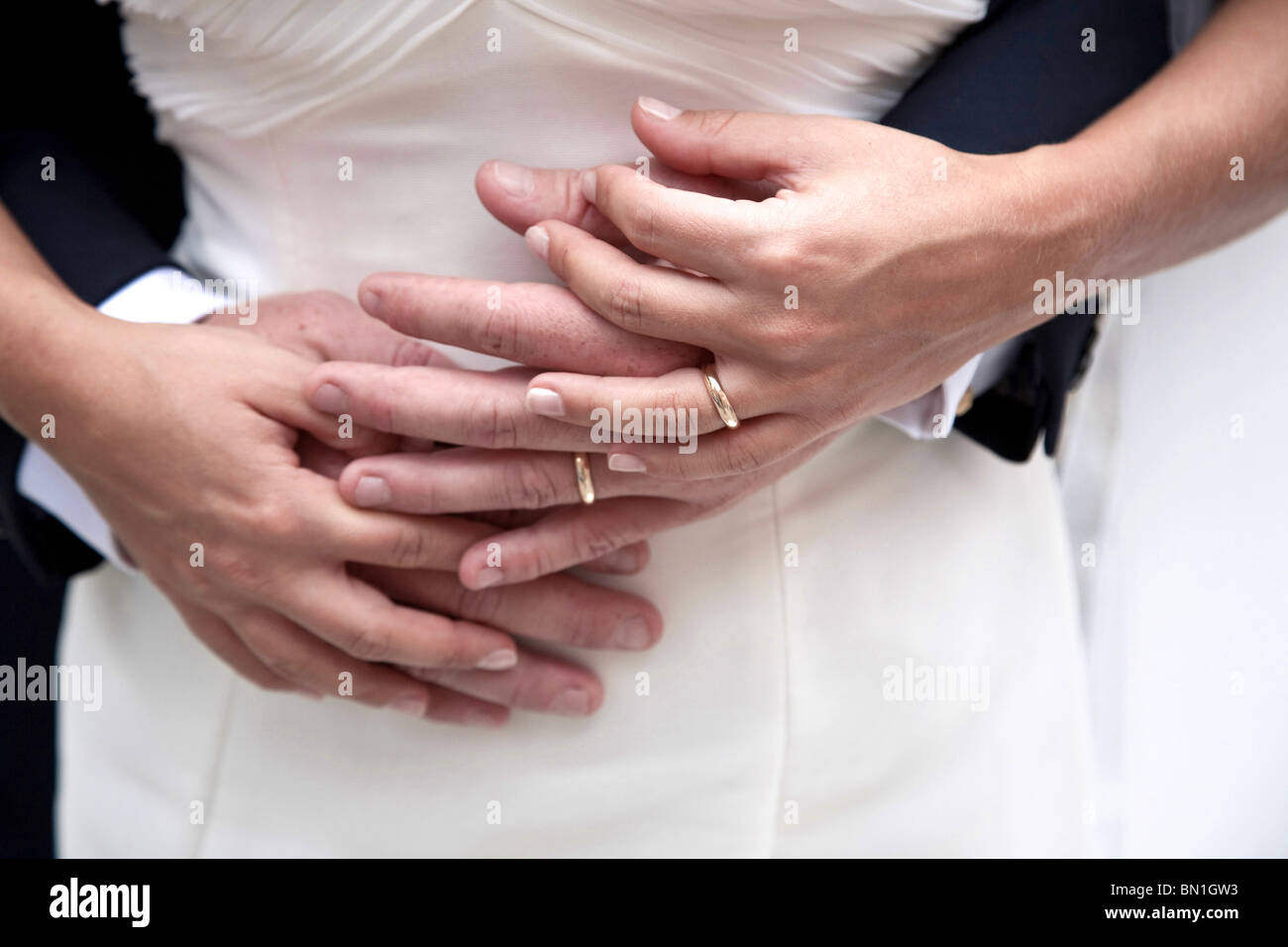 Wedding, Italy - Stock Image