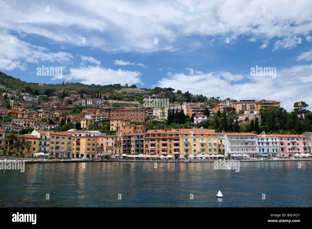 Porto Sante Stefano, Tuscany (Grosseto province), Italy - Stock Image