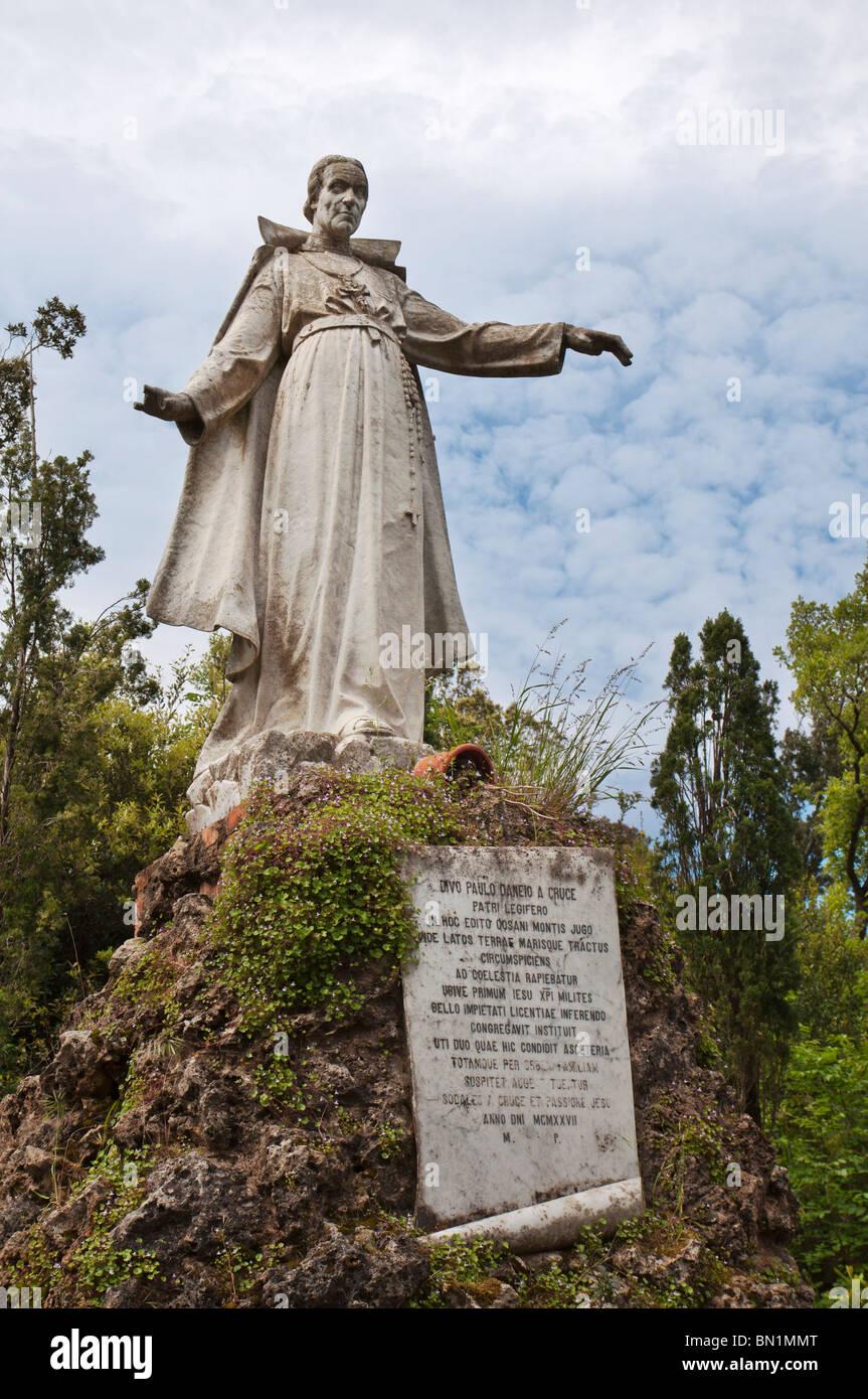 Statue Monte Argentario, Italy - Stock Image