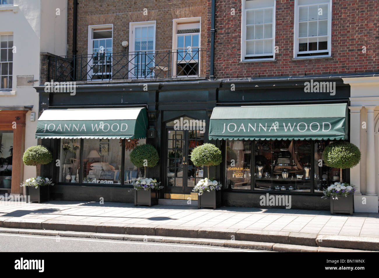 The Shop Front Of The Joanna Wood Interior Design Shop In