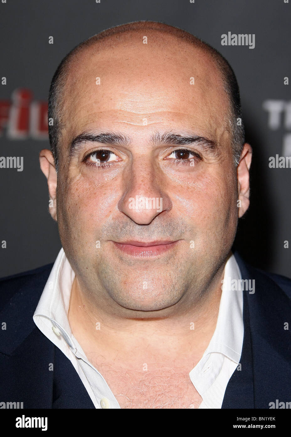 OMID DJALILI THE CREATIVE COALITION PRESENTS THE PREMIERE OF THE INFIDEL HOLLYWOOD LOS ANGELES CA 23 June 2010 - Stock Image