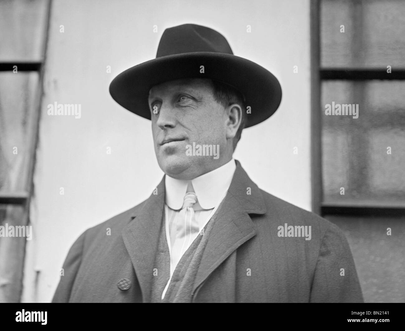 Photo circa 1910 of American newspaper magnate + leading publisher William Randolph Hearst (1863 - 1951). - Stock Image
