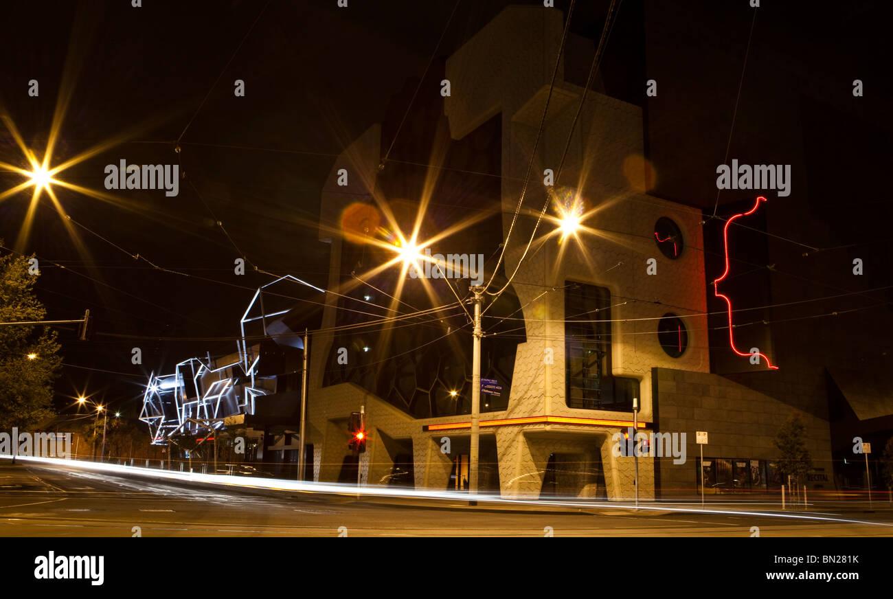 The Melbourne Recital Centre, Southbank Boulevard, Melbourne - Stock Image
