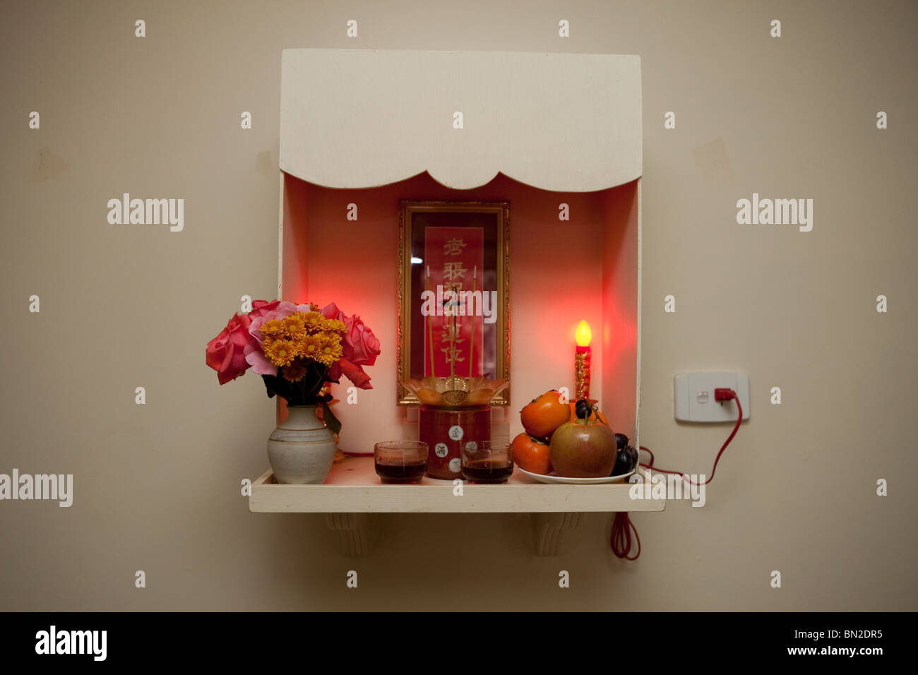 Chinese Home Altar Stock Photos Chinese Home Altar Stock Images