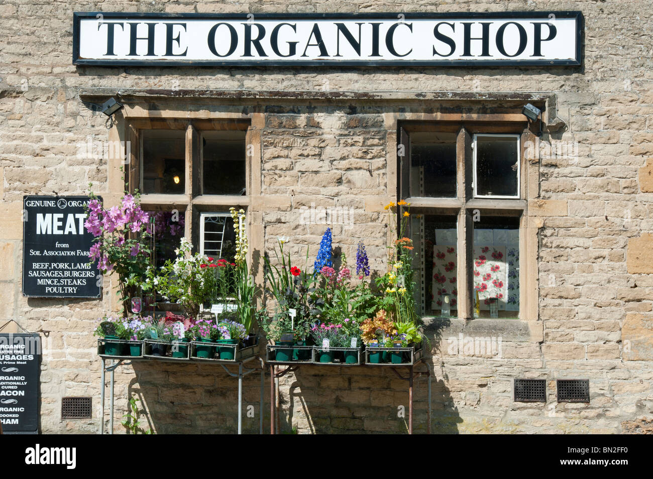 The Organic shop, Stow On the Wold, Cotswolds, Gloucestershire, England Stock Photo