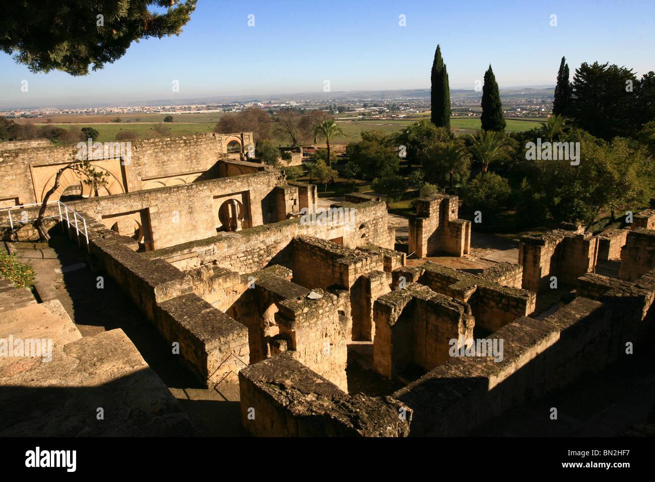 Spain, Andalusia, The ruins of Medina azahara (Al Madinah al-Zahra), near the city Cordova, - Stock Image