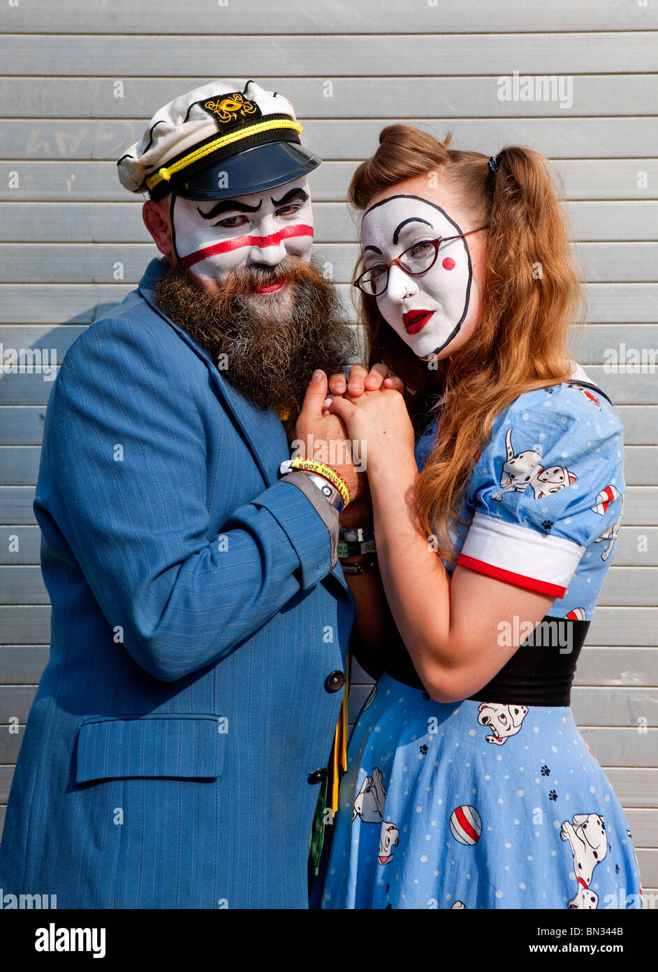 Glastonbury Festival - Stock Image
